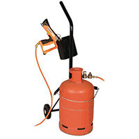 Trolley For Gas Cylinder C/W Holster For Shrink Gun