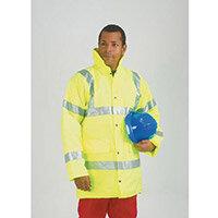Hi-Visibility Coat Yellow Size M