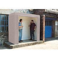 Waiting Shelter -No Windows Grey L:2400 W:1500 H:2250mm