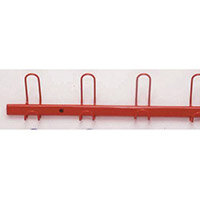 Coat Rack Red