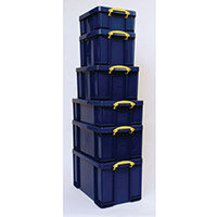 Really Useful Box 42L Capacity Solid Blue