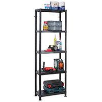 5 Tier Storage Shelf 600x300mm