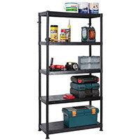 5 Tier Storage Shelf 900x400mm