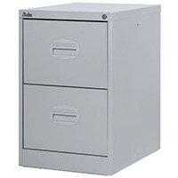 Filing Cabinet Kontrax Light Grey Steel HxWxD: 711x458x622mm
