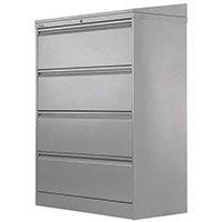 Side Filer Unit 1320H 1003W 507D Silver Ral 9006