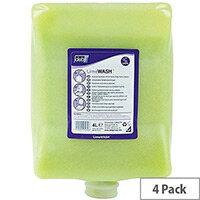 DEB Lime Heavy Duty Hand Cleanser Hand Wash Hand Scrub 4L Pack 4