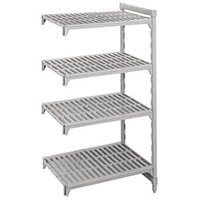 Cambro Camshelving 4-Tier Add-On Unit 1335x500x1800mm