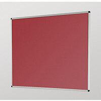 Aluminium Framed Noticeboards 450X600 Burgundy Board