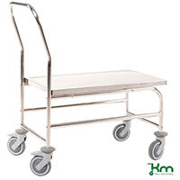 Stainless Trolley 1 Sh. Ss18/8