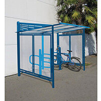 Convivale Cycle Shelter Gentian Blue Ral5010