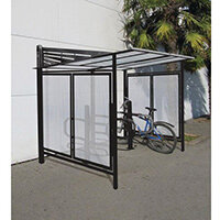 Convivale Cycle Shelter Jet Black Ral9005