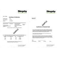 Calibration Certificate For Pressure Meter