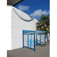 Conviviale Cycle Shelter Extension Gentian Blue