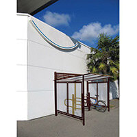 Conviviale Cycle Shelter Extension Chocolate Brown