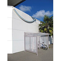 Conviviale Cycle Shelter Extension Silk Grey