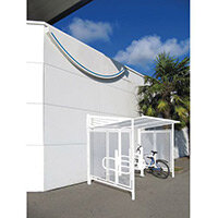Conviviale Cycle Shelter Extension Pure White