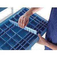 HTM71 Healthcare Storage Basket Divider Only H100xW600xD8mm
