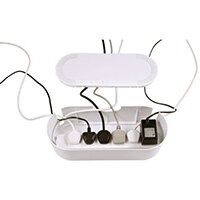 Cable Tidy Unit Large White
