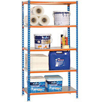 Shelving Kit 5/500 Blue/Orange/Galvanized