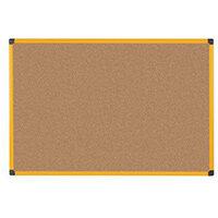 Yellow Maya Frame Cork Noticeboard 600X450
