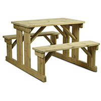 Newport 6 Seater Sturdy Picnic Table Made From Fsc Certified Timber