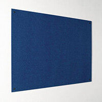 Eco-Colour Frameless Resist-A-Flame Board 600x900mm Blue