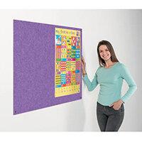 Eco-Colour Frameless Resist-A-Flame Board 900x1200mm Purple