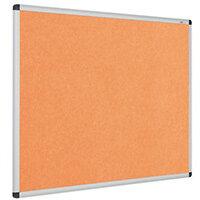 Eco-Colour Aluminium Framed Resist-A-Flame Board 600x900mm Orange