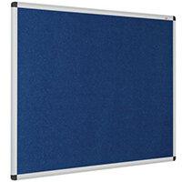 Eco-Colour Aluminium Framed Resist-A-Flame Board 900x1200mm Blue
