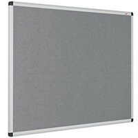 Eco-Colour Aluminium Framed Resist-A-Flame Board 900x1200mm Grey