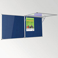 Eco-Colour Corridor Resist-A-Flame Tamperproof Board 900x1800mm Blue