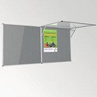 Eco-Colour Corridor Resist-A-Flame Tamperproof Board 1200x1800mm Grey