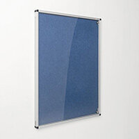 Eco-Colour Blue Tamperproof Resist-A-Flame Board Size HxW: 900x600mm