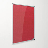 Eco-Colour Red Tamperproof Resist-A-Flame Board Size HxW: 900x600mm