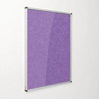 Eco-Colour Purple Tamperproof Resist-A-Flame Board Size HxW: 900x600mm
