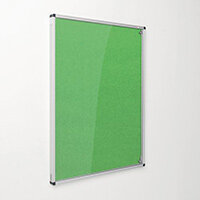 Eco-Colour Apple Green Tamperproof Resist-A-Flame Board Size HxW: 1200x900mm