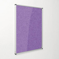 Eco-Colour Purple Tamperproof Resist-A-Flame Board Size HxW: 1200x900mm