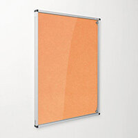 Eco-Colour Orange Tamperproof Resist-A-Flame Board Size HxW: 1200x1200mm