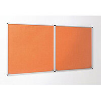 Eco-Colour Orange Tamperproof Resist-A-Flame Board Size HxW: 1200x1800mm