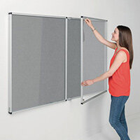 Eco-Colour Grey Tamperproof Resist-A-Flame Board Size HxW: 1200x2400mm
