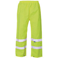 Hi Vis Over Trouser Small Yellow