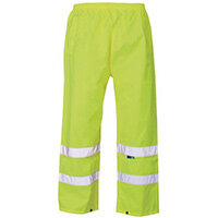 Hi Vis Over Trouser Large Yellow