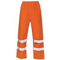 Hi Vis Over Trouser Medium Orange
