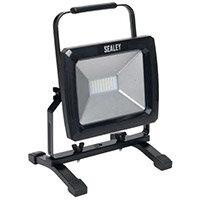 Portable Floodlight 50W Smd Led 230V