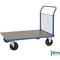 Platform Truck LxW 1283x800mm With One Mesh End