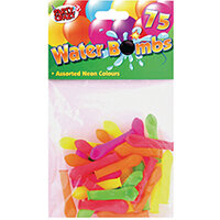 Water Bomb Balloons Assorted Neon Colours Pack of 900 5704