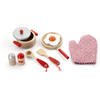 Cooking Tools Set Pretend Play - Red Ref:TD50721