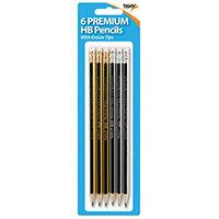 Tiger Eraser Tip Hb Pencils 301535 Pack of 72 301535