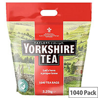 Yorkshire Tea Tea Bag Pack of 1040 5007