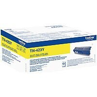 Brother TN-423Y High Yield Yellow Toner Cartridge TN423Y